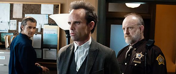"Walton Goggins, Jim Beaver and Timothy Olyphant in Justified - ""Foot Chase"""