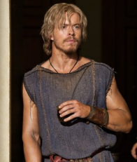 Todd Lasance as Julius Caesar in Episode 2 of Spartacus: War of the Damned