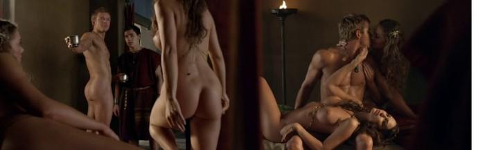 "Caesar (Todd Lasance) nude - Spartacus: War of the Damned ""Spoils of War"""