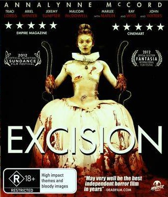 Excision (2012) Blu-Ray Cover