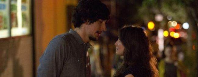 """Girls Episode 9 """"On All Fours"""" Adam Driver as Adam and Shiri Appleby as Natalia"""