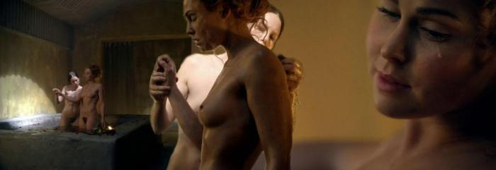 """Laeta (Anna Hutchison) nude - Spartacus: War of the Damned """"Spoils of War"""""""