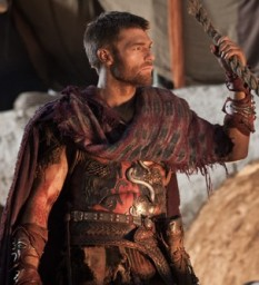 """Liam McIntyre as Spartacus in Spartacus: War of the Damned, Season 3, Episode 5 - """"Blood Brothers"""""""