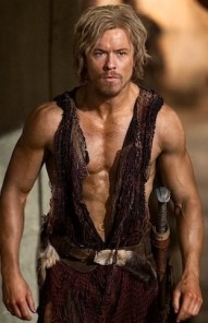 """Todd Lasance as Julius Caesar in Spartacus: War of the Damned, Season 3, Episode 5 - """"Blood Brothers"""""""
