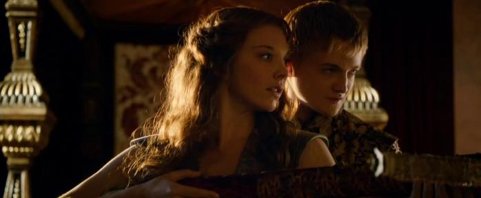 """Jack Gleeson and Natalie Dormer in Game of Thrones, Season 3, Episode 2 - """"Dark Wings, Dark Words"""""""