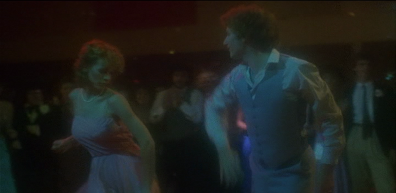 Jamie Lee-Curtis disco dancing in Prom Night (1980)