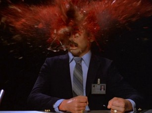 Head exploding from Cronenberg's Scanners