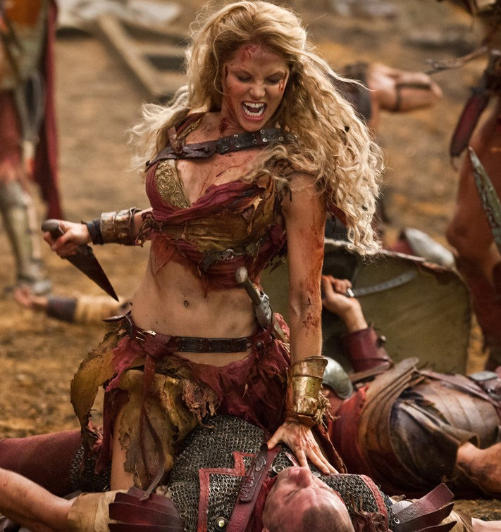 spartacus war of the damned gannicus and saxa