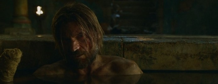 "Jaime Lannister (Nikolaj Coster-Waldau) in Game of Thrones, Season 3 Episode 5 - ""Kissed by Fire"""