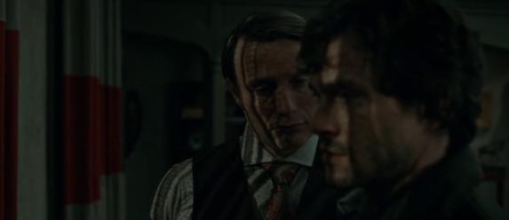 Hannibal - Season 1, Episode 9, Trou Normand - Hugh Dancy and Mads Mikkelsen