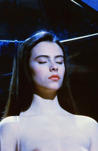 Mathilda May naked in Lifeforce (1985)