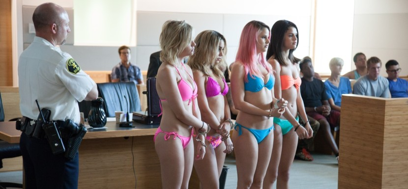 Vanessa Hudgens, Selena Gomez, Ashley Bensen and Rachel Korine in Spring Breakers (2013)