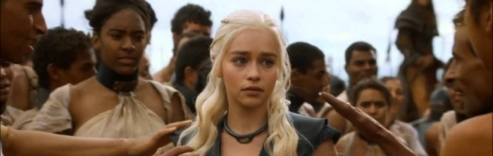 "Daenerys Stormborn (Emilia Clarke) in Game of Thrones Season 3 Finale, ""Mhysa"""