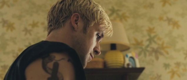 The Place Beyond the Pines - Ryan Gosling close-up