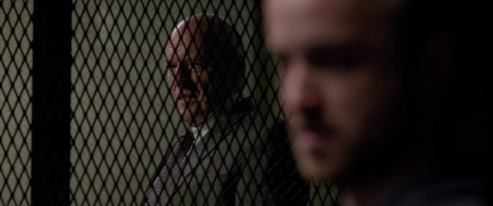 "Aaron Paul and Dean Norris in Breaking Bad Season 5 Episode 11 - ""Confessions"""