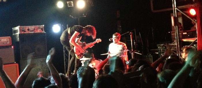 Japandroids at the The Zoo, September 1 2013