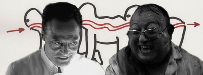 Double Feature - The Human Centipede (Dieter Laser and Laurence R. Harvey)