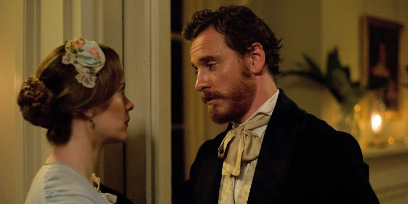 12 Years a Slave - Michael Fassbender and Sarah Paulson