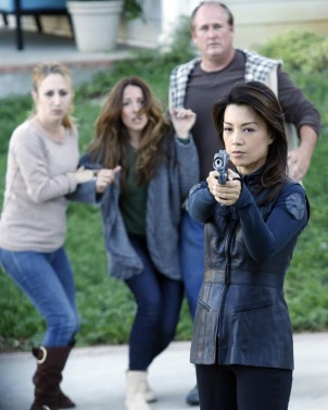 "Ming-Na Wen in Marvel's Agents of SHIELD - ""Repairs"""