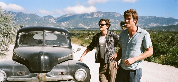 Garrett Hedlund and Sam Riley in On the Road (2012)