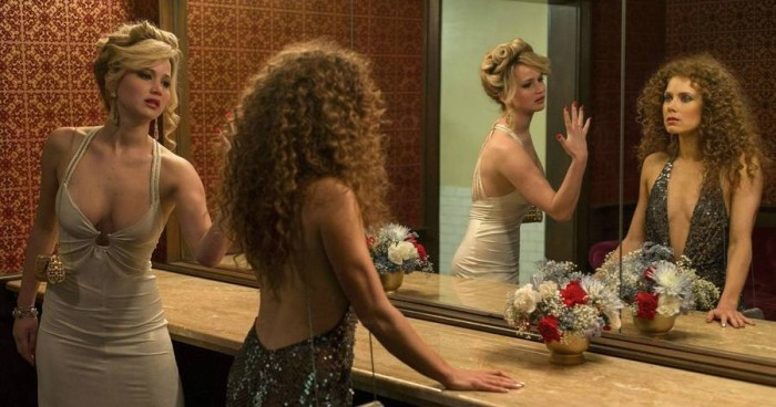 Jennifer Lawrence and Amy Adams in American Hustle (2013)