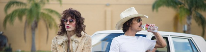 Matthew McConaughey and Jared Leto in Dallas Buyers Club