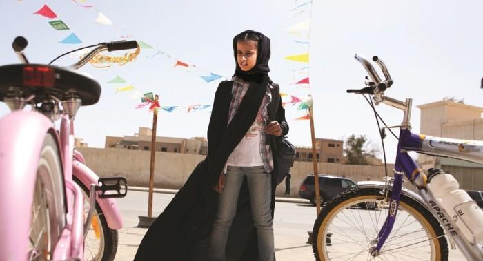 Waad Mohammed in Wadjda (2013)