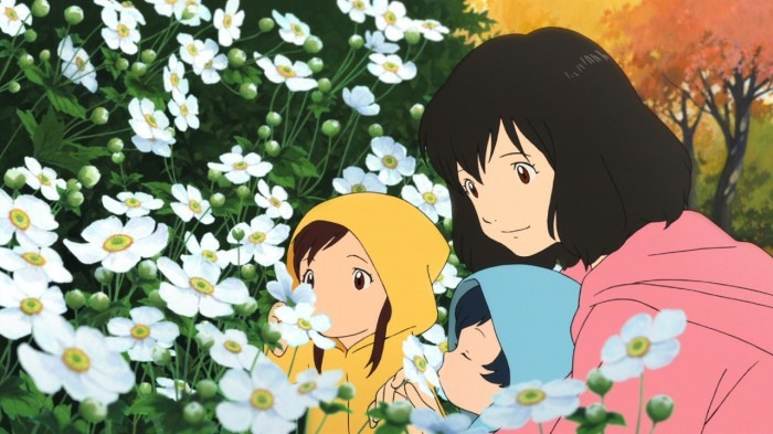 Wolf Children - flowers