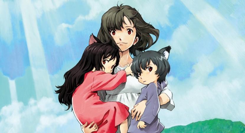 Wolf Children - poster