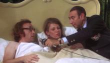 Woody Allen and Louise Lasser in Bananas (1971)