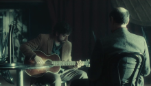 Oscar Isaac and F. Murray Abraham in Inside Llewyn Davis