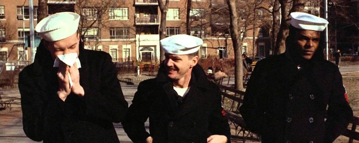 Randy Quaid, Jack Nicholson and Otis Young inThe Last Detail (1973)