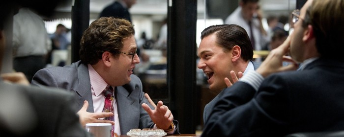 Leonardo DiCaprio and Jonah Hill in The Wolf of Wall Street (2013)