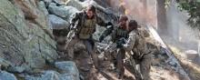 Mark Wahlberg, Emile Hirsch and Ben Foster in Lone Survivor (2013)