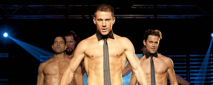 Channing Tatum and Matt Bomer in Magic Mike