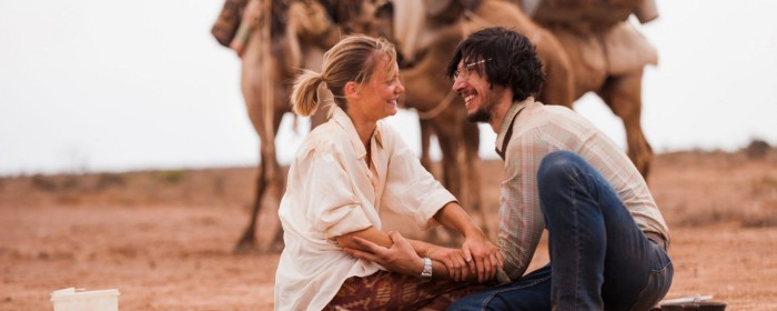 Mia Wasikowska and Adam Driver in Tracks (2013)