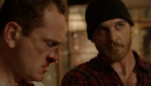 Pat Healy and Ethan Embry in Cheap Thrills (2013)
