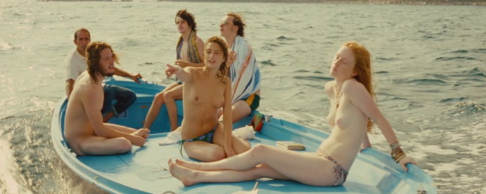 India Menuez and Lola Créton nude in After May (2012)