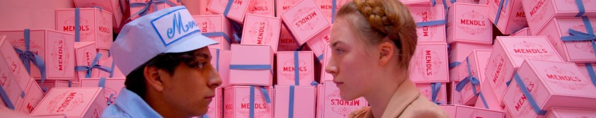 Tony Revolori and Saoirse Ronan - The Grand Budapest Hotel (2014)