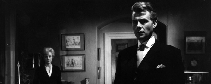 Dirk Bogarde and Sylvia Sims in Victim (1961)