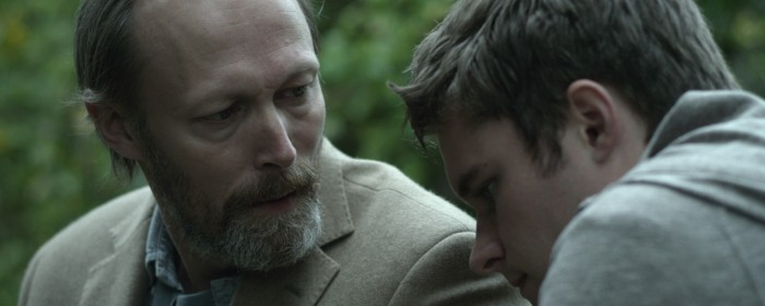 Lars Mikkelsen and Jack Reynor in What Richard Did (2013)