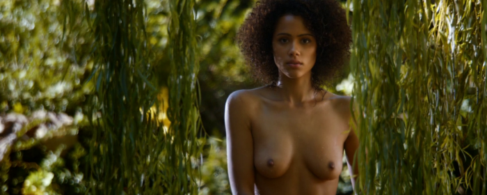 Game of Thrones, Season 4, Episode 8 - Nathalie Emmanuel naked