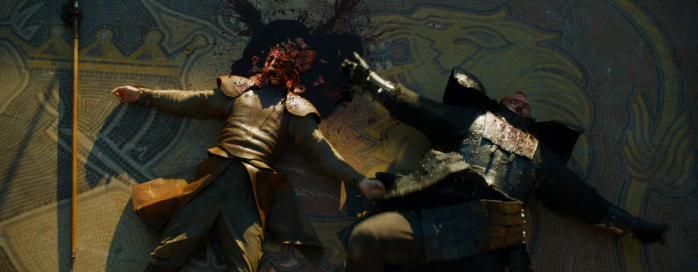 Game of Thrones, Season 4, Episode 8 - Oberyn's smashed head