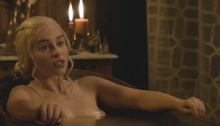 Here There Be Bosoms - Emilia Clarke