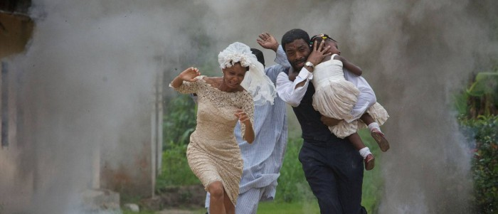 Thandie Newton and Chiwetel Ejiofor in Half of a Yellow Sun (2013)