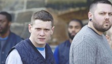 Jack O'Connell in Starred Up (2013)