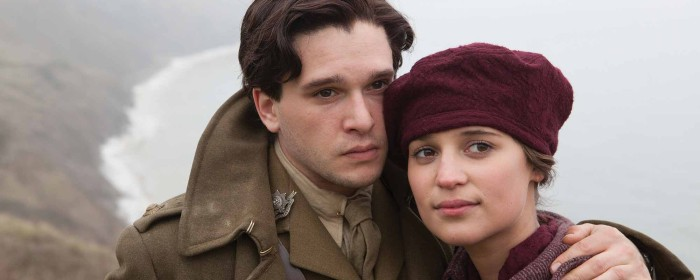 Kit Harington and Alice Vikander in Testament of Youth (2015)