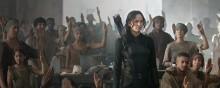 Jennifer Lawrence in The Hunger Games - Mockingjay - Part 1 (2014)