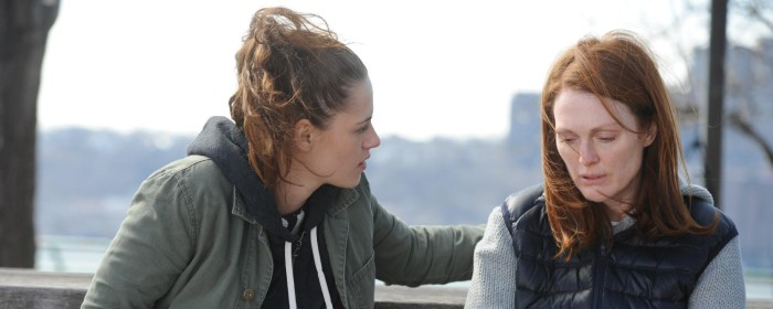 Kristen Stewart and Julianne Moore in Still Alice (2014)