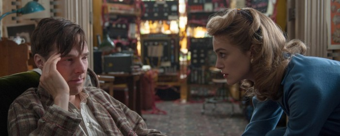 Benedict Cumberbatch and Keira Knightley in The Imitation Game (2014)